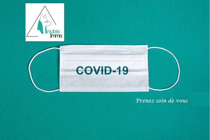 mesures covid agence immobiliere
